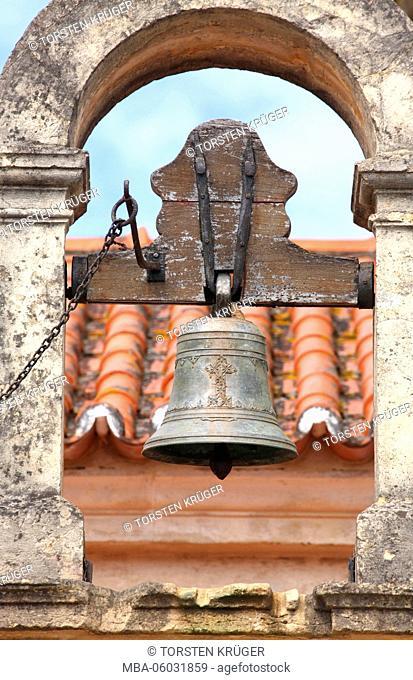 Bell tower, cloister of Santa Clara-a-Nova, Coimbra, Beira Litoral, Regio Centro, Portugal