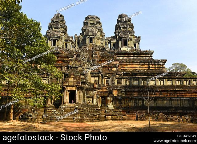 Ta Keo temple at Angkor, Siem Reap province, Cambodia, South East Asia