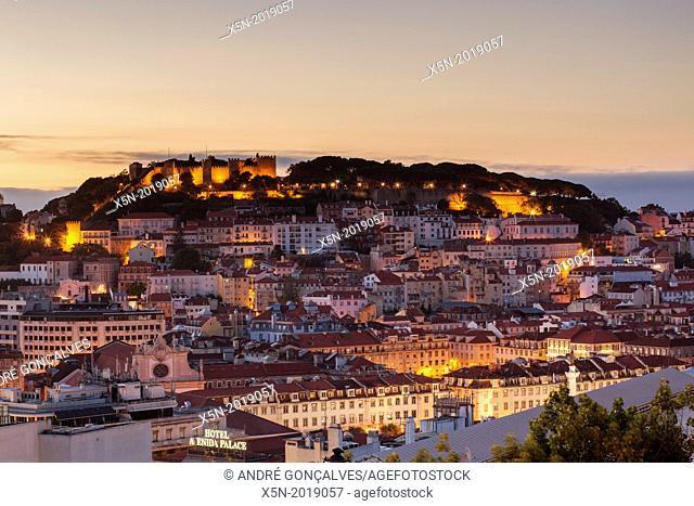 Miradouro de Sao Pedro de Alcantara, Lisbon, Portugal, Europe