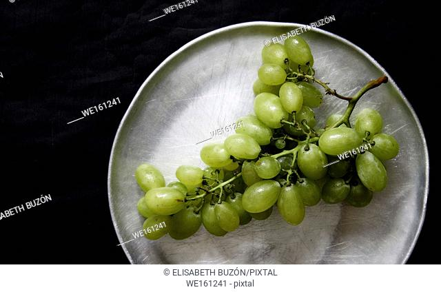 Picture about a bunch of grapes