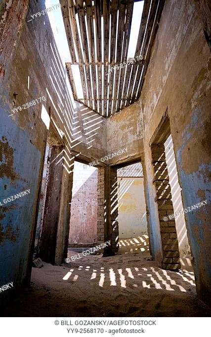 Doorways in Kolmanskop Ghost Town - Luderitz, Namibia, Africa