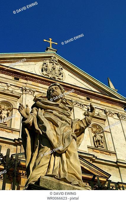 The Church of SS Peter and Paul, Krakow, Poland