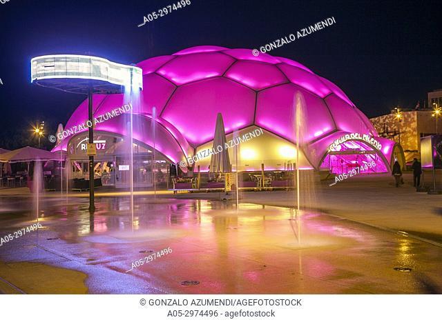 Cupula del Milenio auditorium, Valladolid, Castilla y Leon, Spain