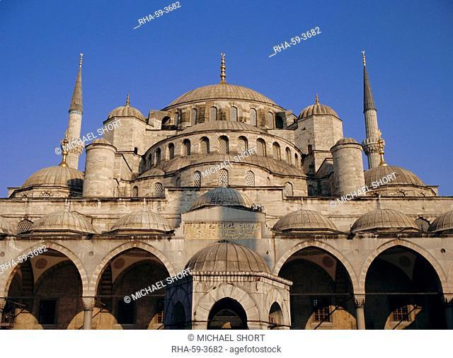 Blue Mosque Sultan Ahmet, Istanbul, Turkey, Eurasia