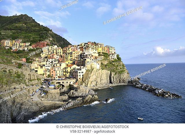 Italy, Liguria, Cinque Terre National Park, World Heritage Site, Manarola