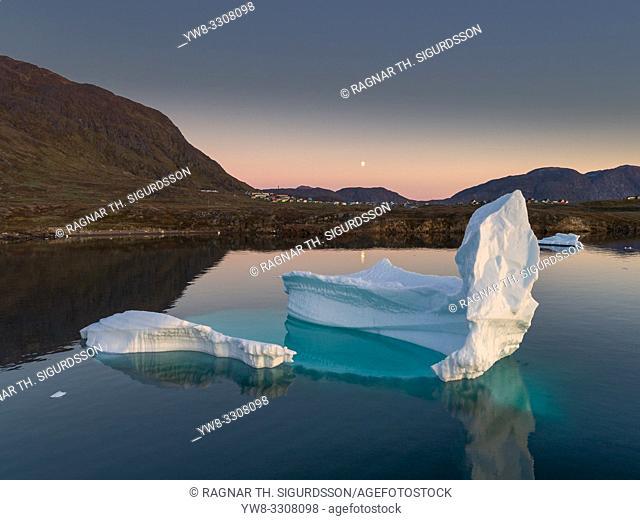 Icebergs, Narsaq, Greenland