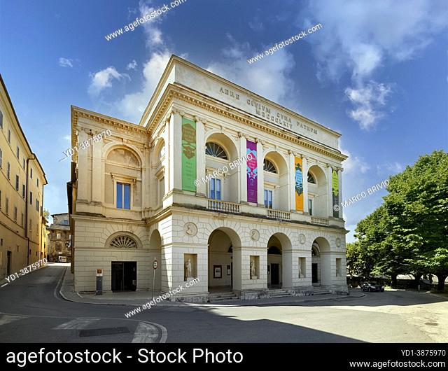 Spoleto Umbria Italy. Giancarlo Menotti theater