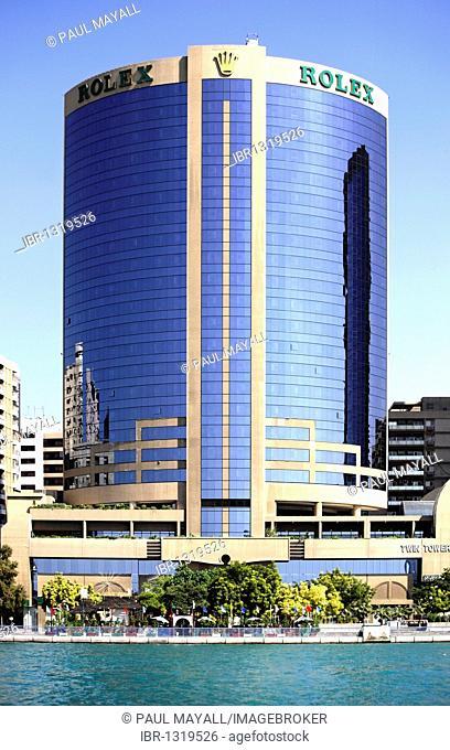Rolex Twin Tower Complex, Dubai, United Arab Emirates, Middle East