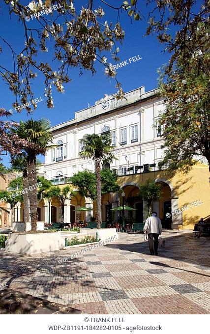 Portugal, Algarve, Silves, Town Hall & Garden