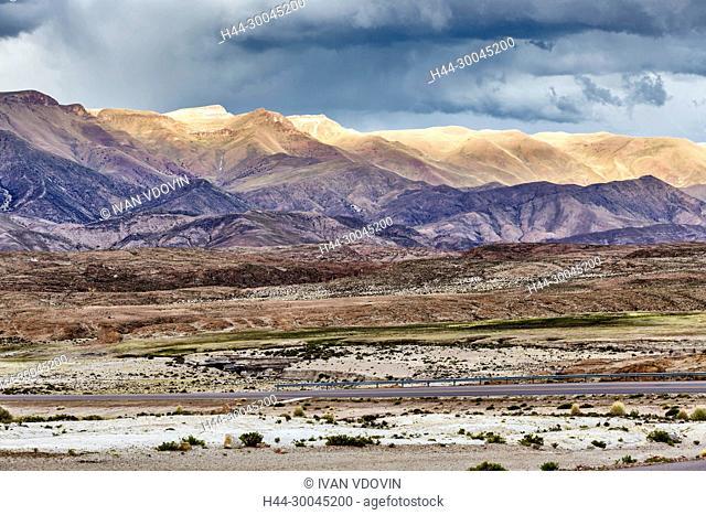 Road between Potosi and Uyuni, Potosi, Potosi department, Bolivia