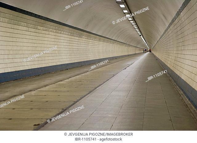 Sint-Annatunnel, Voetgangerstunnel St Anna, St Anna Pedestrian Tunnel, Antwerp, Belgium