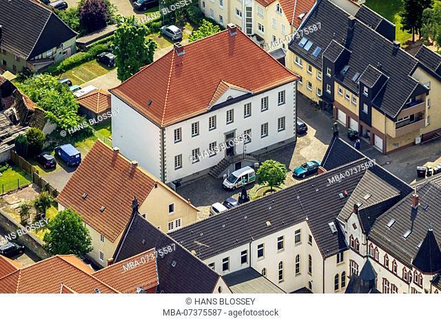 Walburgisheim House, former residence of Hermann Brandis, member of a privileged salter (Erbsälzer) family, Werl, Werl-Unna Börde, North Rhine-Westphalia