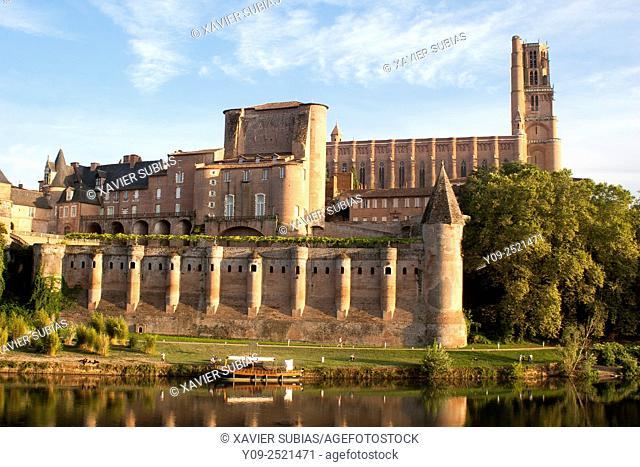 Sainte-Cécile Cathedral, Albi, Tarn, Midi-Pyrénees, France