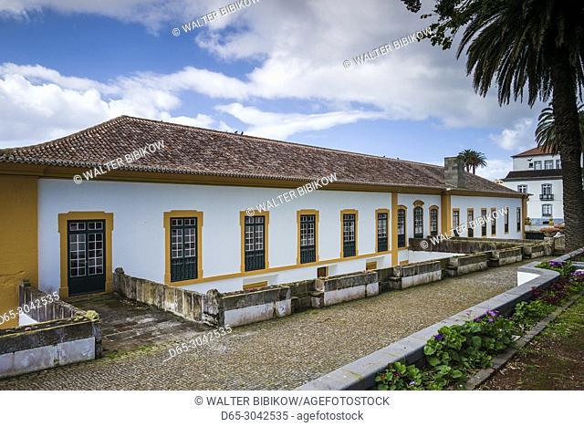 Portugal, Azores, Terceira Island, Angra do Heroismo, Palacio Capitaes Generais palace, exterior
