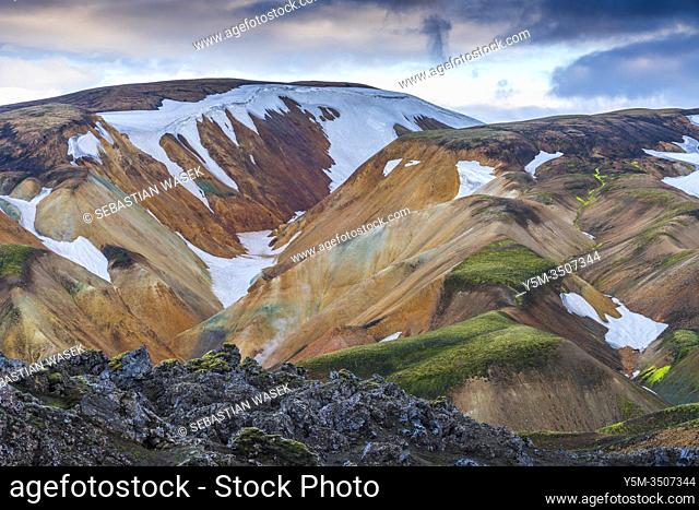 Landmannalaugar, Fjallabak Nature Reserve, Highlands of Iceland, Southern Region, Iceland