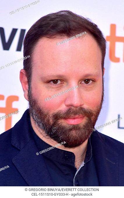 Yorgos Lanthimos at arrivals for THE LOBSTER Premiere at Toronto International Film Festival 2015, Princess of Wales Theatre, Toronto, ON September 11, 2015