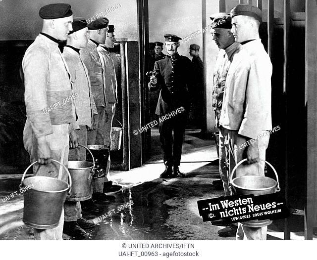 All Quiet on the Western Front, USA 1930, aka: Im Westen nichts Neues, Regie: Lewis Milestone, Darsteller: Lew Ayres, John Wray
