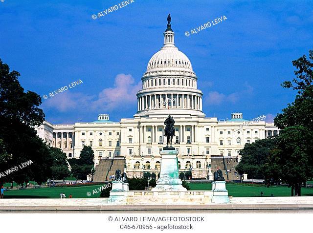 Capitol building. Washington D.C., USA