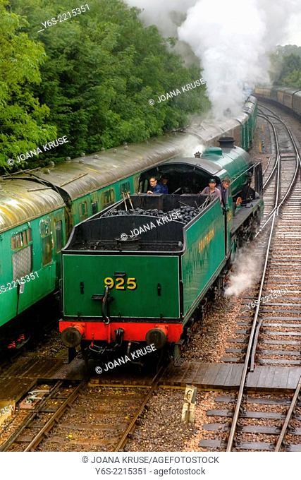 New Alresford, Watercress Line, Hampshire, England, United Kingdom