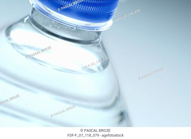Close-up of a water bottle