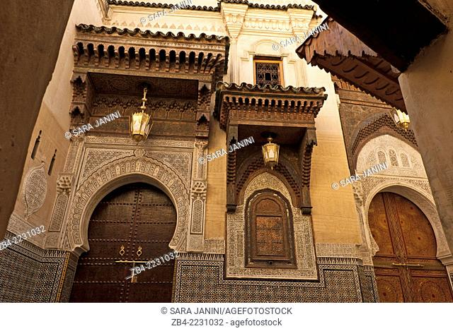 Mosque Sidi Ahmed Tijani, The Medina, Fez or Fes, Morocco, North Africa