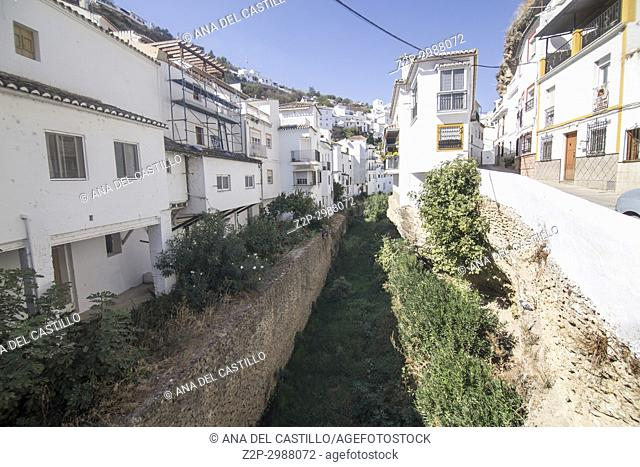 Setenil de las Bodegas is one of the most beautiful villages in Spain. Andalusia Spain