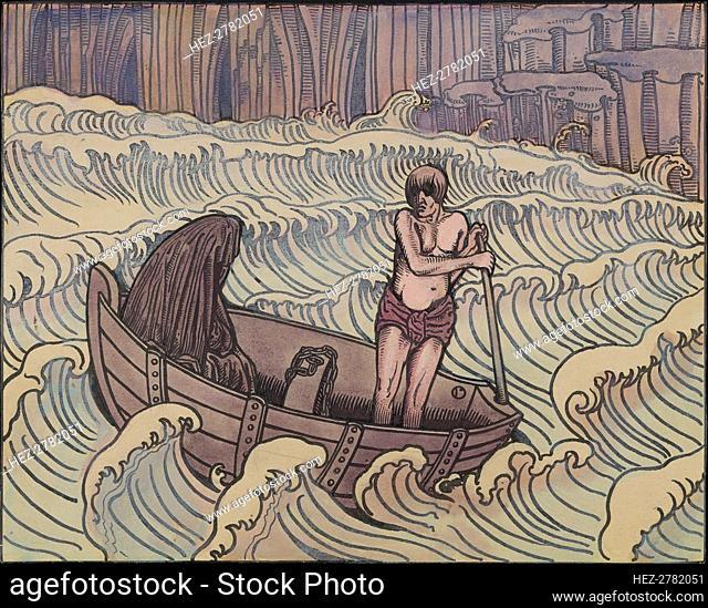 Charon, ca 1896. Creator: Doudelet, Charles (1861-1938)