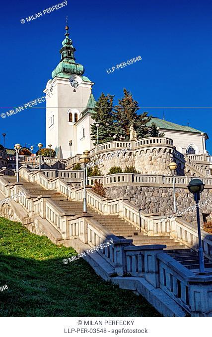 Catholic church of St. Andrew, Ruzomberok, Slovakia