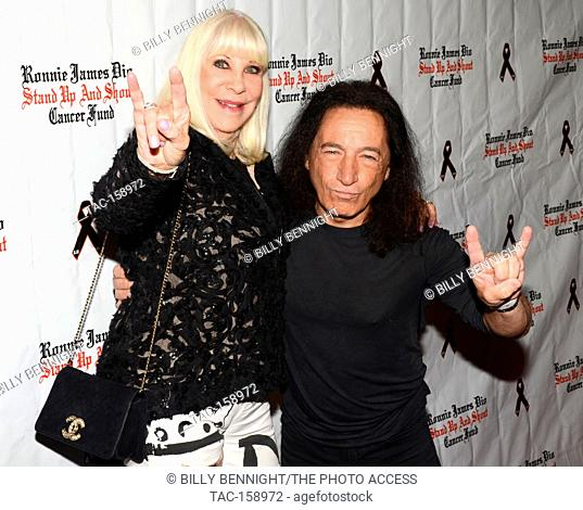 """Wendy Dio and Rock Feinstein arrives at the 3rd Annual """"""""Bowl 4 Ronnie"""""""" Celebrity Bowling Tournament, benefiting the """"""""Ronnie James Dio Stand Up and Shout..."""