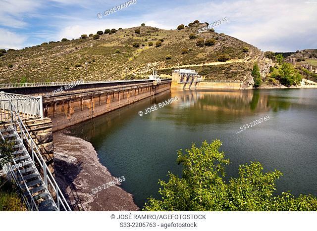 Palmaces reservoir. Guadalajara. Castilla la Mancha. Spain