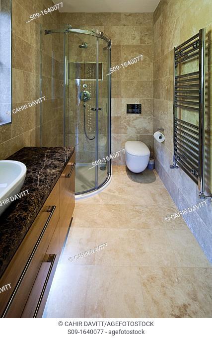 Bathroom of luxury private dwelling, Blackrock, Co Dublin
