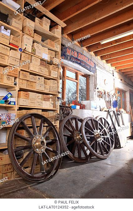 The Wheelwrights Shop (Craftsman)