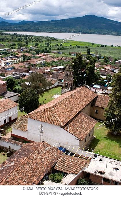Tzirahuen Town Michoacan Mexico