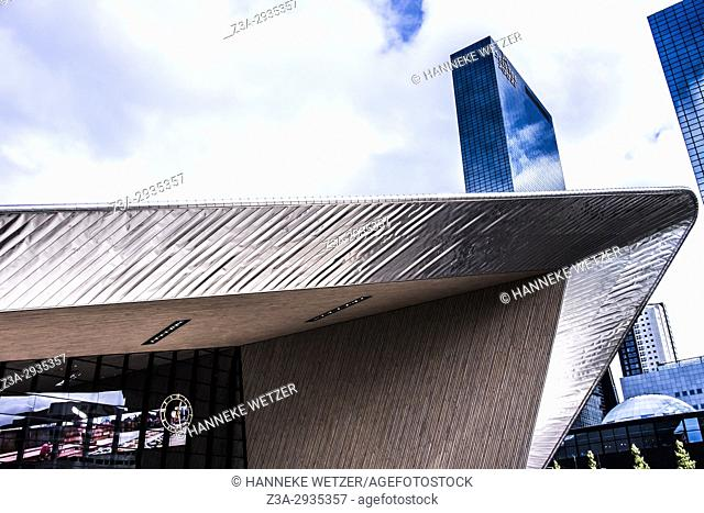 Central station in Rotterdam, the Netherlands, Europe