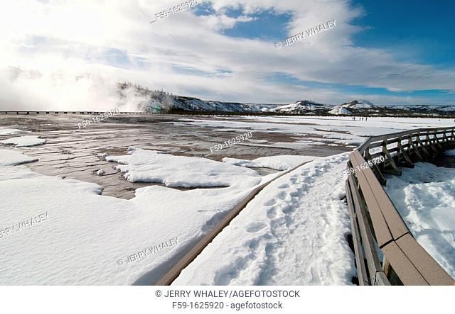 Midway Geyser Basin, Yellowstone NP, WY