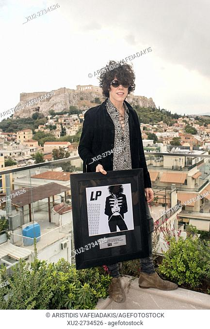 Laura Pergolizzi (LP) gives a press conference in Athens Greece. Laura will give a concert on Friday 23/9