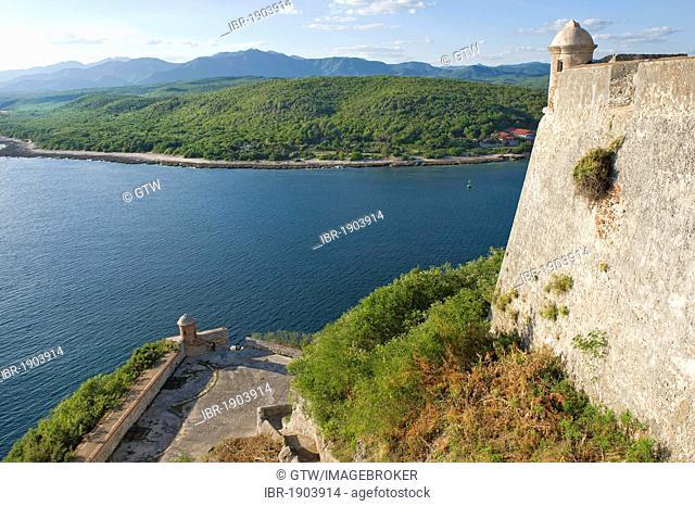 Fortress San Pedro de la Roca or Castillo del Morro, Unesco World Heritage Site, Santiago de Cuba, Cuba