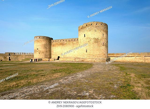 The inner part of fortress Akkerman (white rock, white fortress), Belgorod-Dnestrovskiy , Ukraine, Eastern Europe