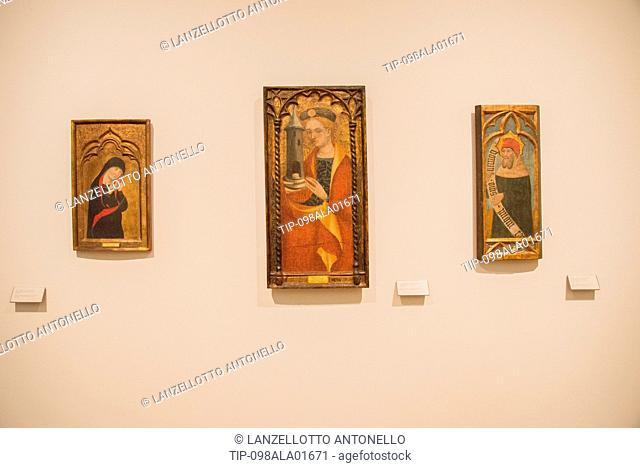Europe, Portugal, Lisbon, Estrela, National Museum of Ancient Art, Mater Dolorosa, St.Barbara, Prophet Micah