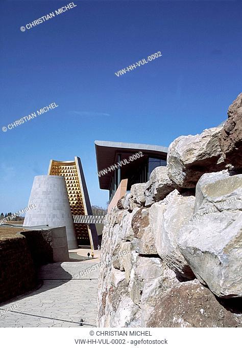 VULCANIA, COMMUNE DE SAINT OURS LES ROCHES, FRANCE, Architect HANS HOLLEIN