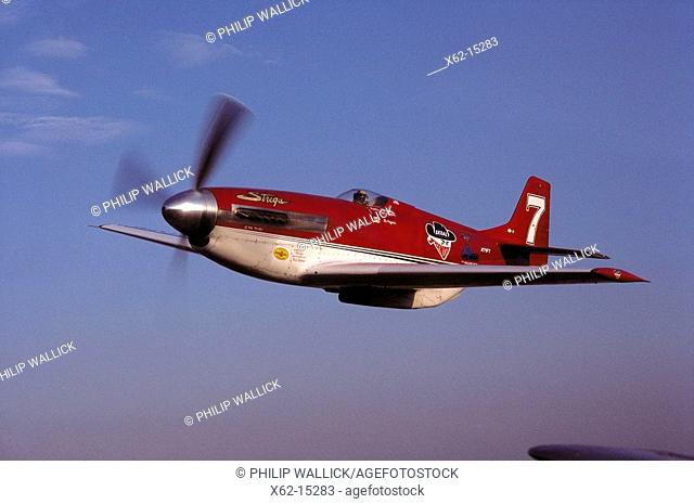 World War II P-51 Mustang 'Strega'