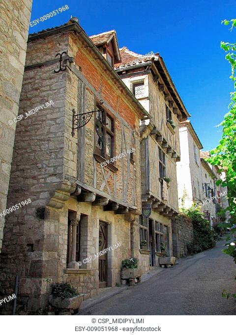 Old village, Lapopie, Medieval