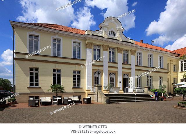 Germany, HERTEN, WESTERHOLT, 26.07.2015, D-Herten, Ruhrgebiet, Westfalen, Nordrhein-Westfalen, NRW, D-Herten-Westerholt, Altes Dorf Westerholt