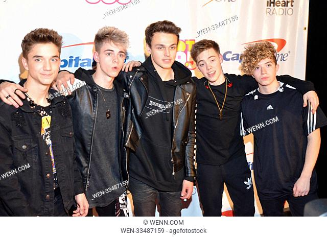 HOT 99.5's Jingle Ball - Arrivals Featuring: Why Don't We Where: Washington DC, United States When: 11 Dec 2017 Credit: WENN.com