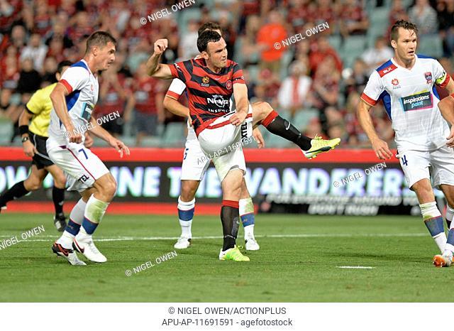 2015 Hyundai A-League Western Sydney v Newcastle Jets Dec 24th. 24.12.2015. Pirtek Stadium, Sydney, Australia. Hyundai A-League