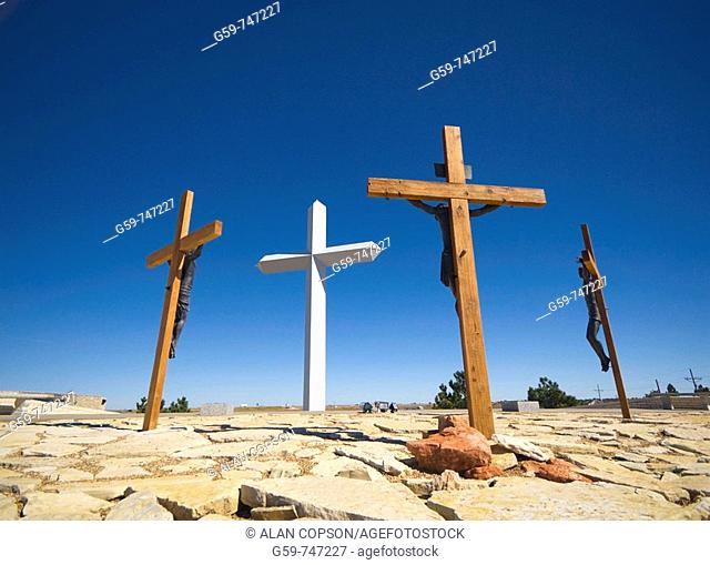 USA Texas  Route 66  Groom  The Cross of Our Lord Jesus Christ