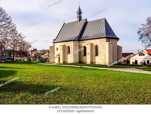 Poland, Swietokrzyskie Voivodeship, Kielce County, Bodzentyn, Holy Spirit Church