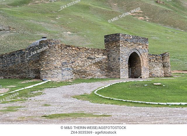 Tash Rabat, XV century caravanserai, Naryn Province, Kyrgyzstan