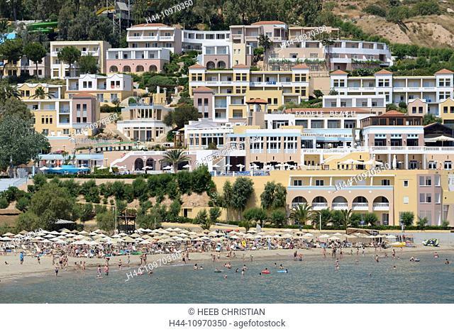 Europe, Greece, Greek, Crete, Mediterranean, island, Fodele, water park, resort, beach
