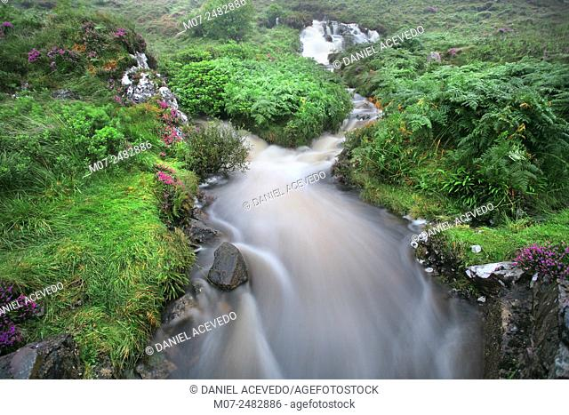 Poisoned Valley by Errigal, The poison glen, Donegal county, Ireland